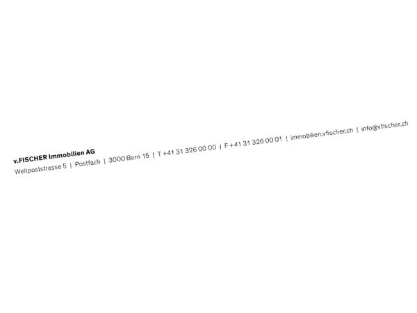 Immobilien - Briefvorlage Rechnung