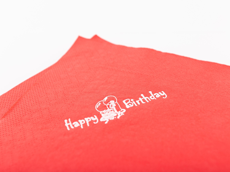 """Papierservietten """"Happy Birthday"""""""