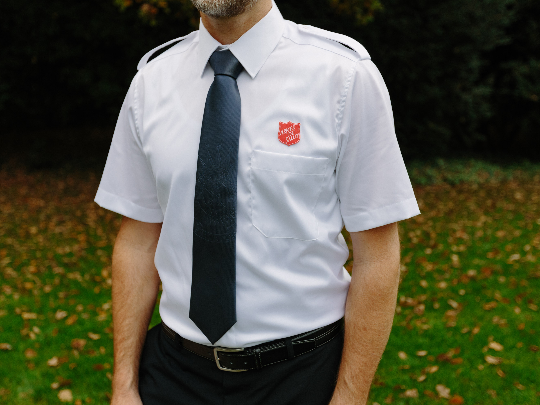 Uniformhemd kurzarm