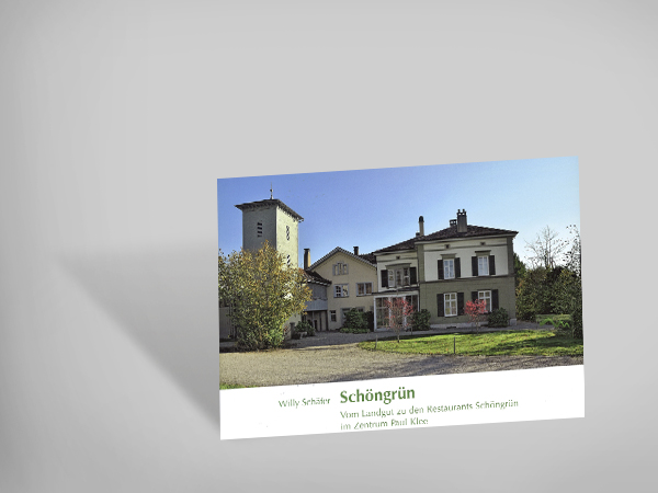 Schöngrün - Vom Landgut zu den Restaurants im Zentrum Paul Klee